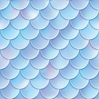 Fish scales seamless pattern. Mermaid tail texture. Vector illustration