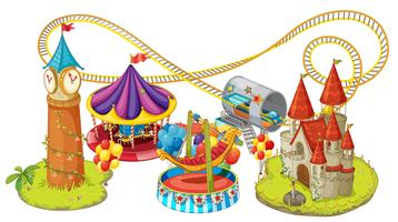 funfair games vector