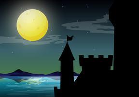 Silhuett slott