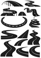 Different shapes of lanes vector