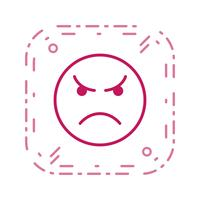 Boze Emoticon Vector Icon