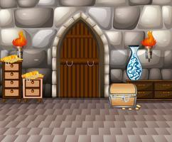 Habitación y tesoro