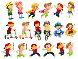 Um conjunto de atividades urbanas para crianças