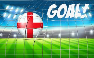 England football goal point