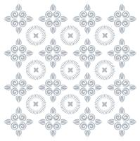 Pattern silhouette cut tracery curls