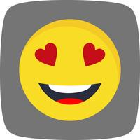 Amour Emoji Vector Icon
