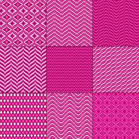 pink red mod bargello geometric patterns