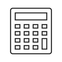 Line Black Icon vector