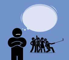 Asociaal of anti-sociaal.
