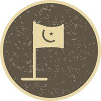 Drapeau islamique Vector Icon