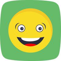 Rindo Emoji Vector Icon