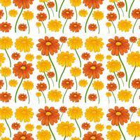 Un patrón inconsútil de la flor de la margarita