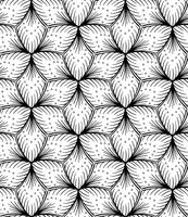 Seamless lined pattern hand drawing. vector