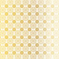 gold white ornate circular medallion pattern