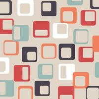 Squared Retro Background vector