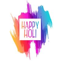 abstract color splash for happy holi
