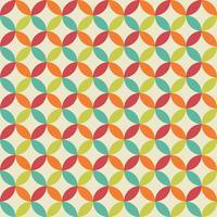 Retro Circled Pattern