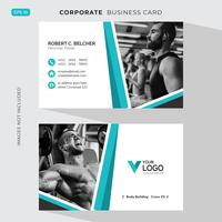 Fitness Business card Template