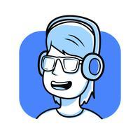 Ragazzo che ascolta musica