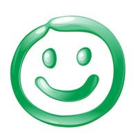 Smiley Icon vector design illustration template