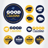 Chef Label Vector Pack