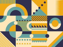 Retro Muster Design