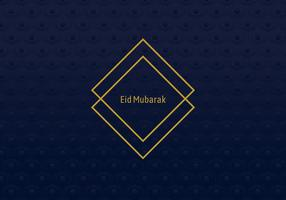 Marco Geométrico Eid Mubarak