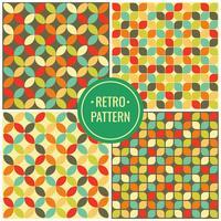 Seamless Retro Pattern Wallpaper