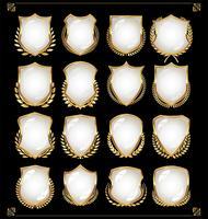 escudos vector
