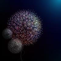 Abstract dandelion in vector art