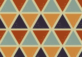 driehoeken retro patroon