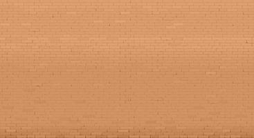 Background with an old red brick wall. Interior in loft style. Vector graphics