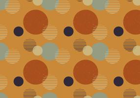 Abstract Dots Retro-patroon