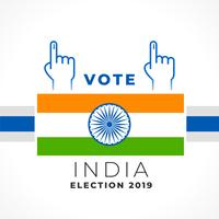 stylish vote india banner design