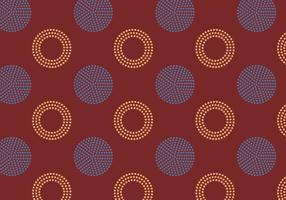 Polkadot Retro Pattern