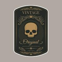 Retro Vintage Label Vorlage