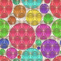 Linea poligonale e sfondo senza soluzione di continuità.