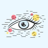 Vector de ojo