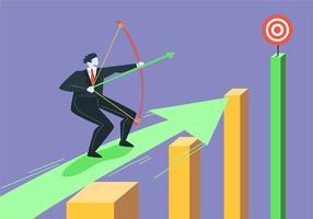 Vector de objetivos corporativos