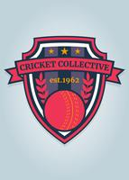 Funky Cricket Logo Vector