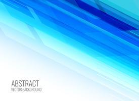abstract shiny blue presentation background