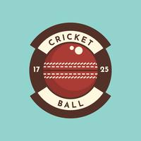 Cricket Ball-badge