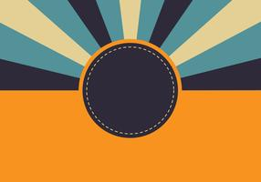 Fundo Retro Sunburst