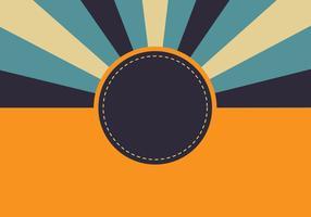 Retro Sunburst Hintergrund