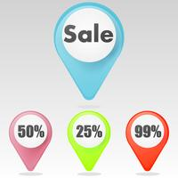 """Sale"" icon. Vector Flat Illustration"