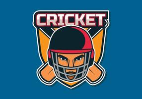 cricket logo vector