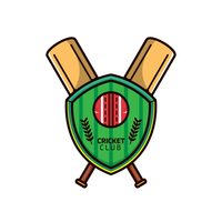 Logo Cricket Vector