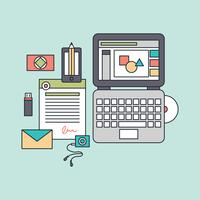 Outlined Graphic Design Software