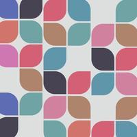 Fundo colorido retrô abstrato