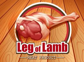 Leg of lamb logo